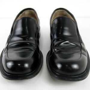 Johnston & Murphy - Black Leather Slip On Sz 9M